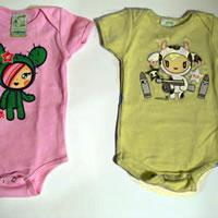 Body kaftaniki dla niemowląt