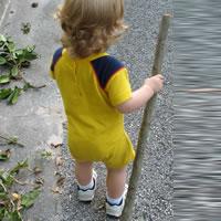 Nauka chodzenia dziecka 2 letniego