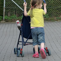 Dziecko 3 letnie - sprawność, lokomocja, chodzenie